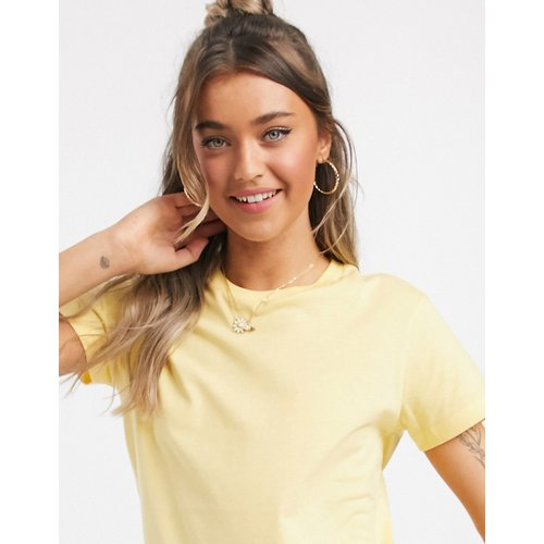 Ultimate - T-shirt ras de cou en coton biologique - Babeurre - ASOS DESIGN - Modalova