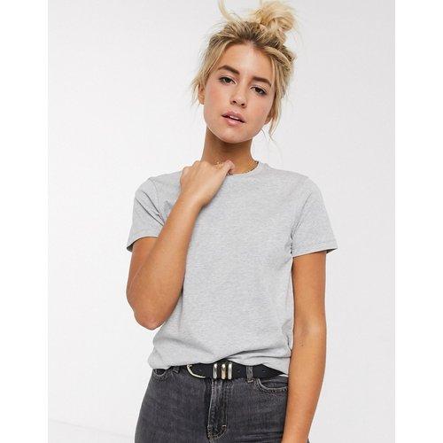 Ultimate - T-shirt ras de cou en coton biologique - chiné - ASOS DESIGN - Modalova