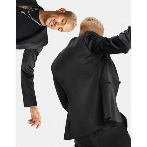 Veste de costume ajustée style smoking - ultra brillant - ASOS DESIGN - Modalova