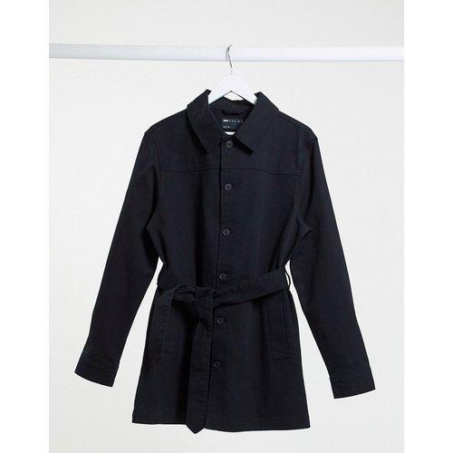 Veste en jean coupe droite - ASOS DESIGN - Modalova