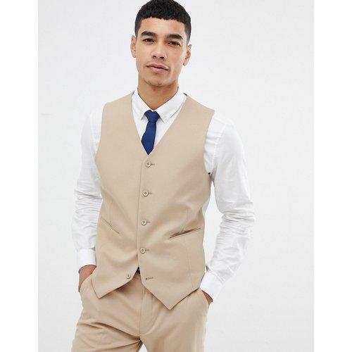 Veston de costume slim - Camel - ASOS DESIGN - Modalova