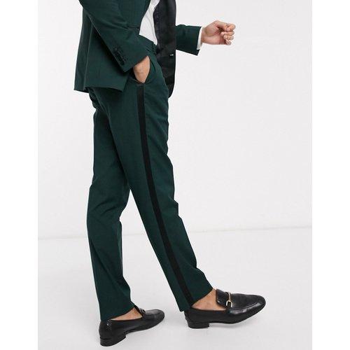 Wedding - Pantalon de smoking slim - forêt - ASOS DESIGN - Modalova