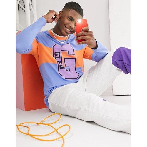 X glaad - T-shirt unisexe à manches longues avec imprimé « Glaad » - ASOS DESIGN - Modalova