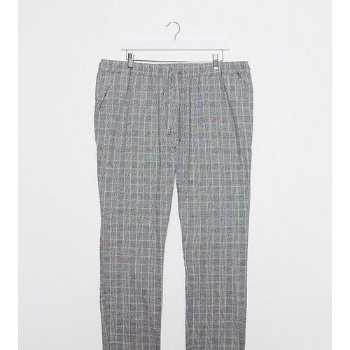 Plus - Pantalon slim à carreaux - ASOS DESIGN - Modalova
