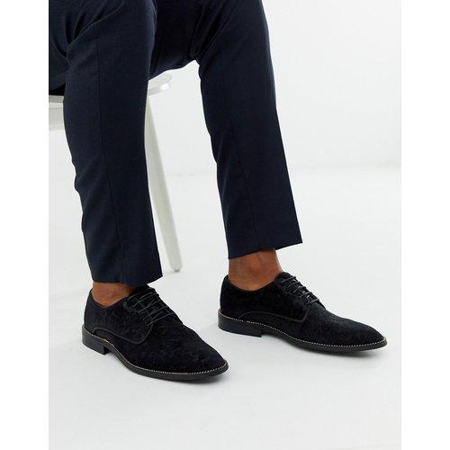 Chaussures derby en jacquard avec semelle ornée d'une chaîne - ASOS EDITION - Modalova