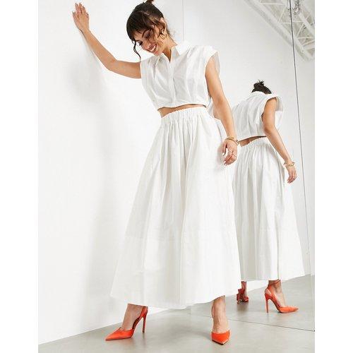 Jupe mi-longue ample en coton - ASOS EDITION - Modalova