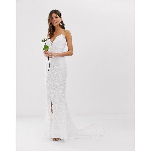 Robe de mariée caraco en dentelle - ASOS EDITION - Modalova