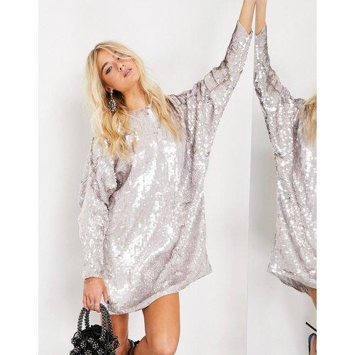 Robe t-shirt courte ornementée - ASOS EDITION - Modalova