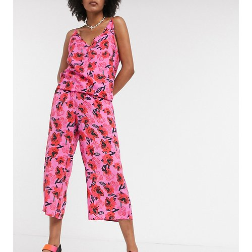 KENYA - Pantalon large à imprimé floral (ensemble) - ASOS MADE IN - Modalova