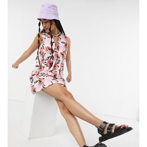 KENYA - Robe droite à imprimé floral - ASOS MADE IN - Modalova
