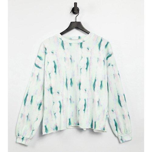 KENYA - Sweat-shirt effet tie-dye (ensemble) - ASOS MADE IN - Modalova