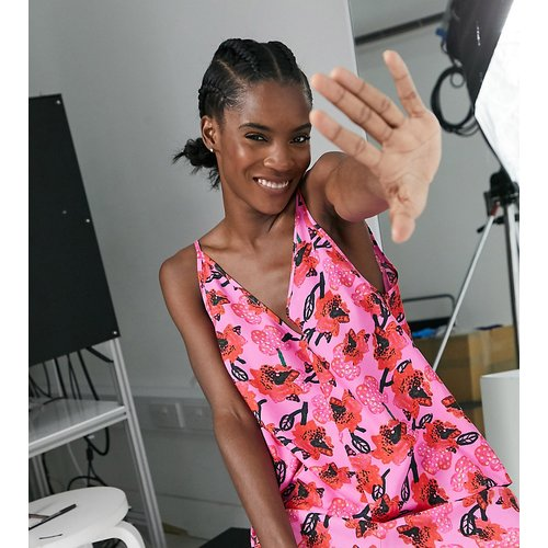 KENYA - Top de caraco à imprimé floral (ensemble) - ASOS MADE IN - Modalova