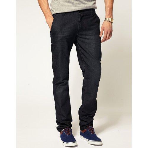 ASOS - Pantalon chino slim en jean - ASOS DESIGN - Modalova