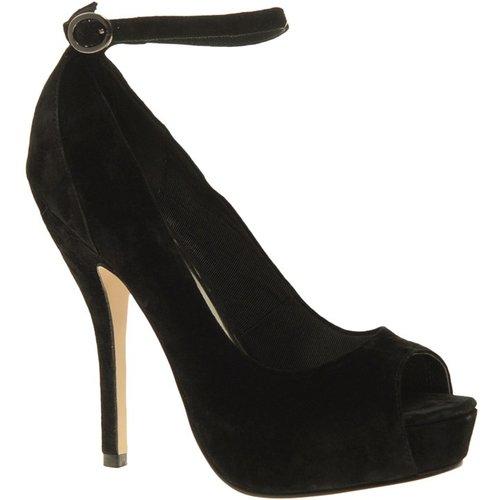 ASOS - PARANORMAL - Escarpins peep toes plateforme avec bride - ASOS DESIGN - Modalova