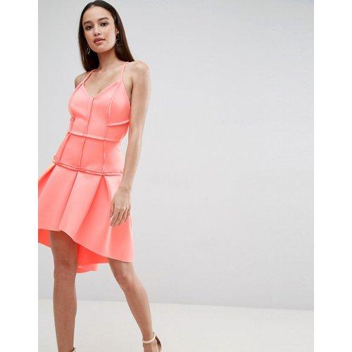 ASOS PREMIUM - Robe courte à taille basse effet corset - ASOS DESIGN - Modalova
