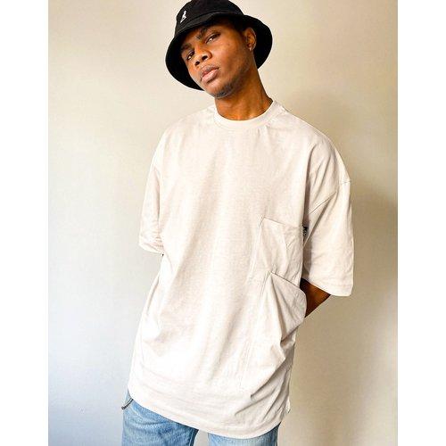 ASOS Unrvlld Spply - T-shirt oversize avec poches - ASOS Unrvlld Supply - Modalova