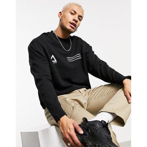 ASOS - Unrvlld Supply - Sweat-shirt oversize à logos sur la poitrine - ASOS Unrvlld Supply - Modalova