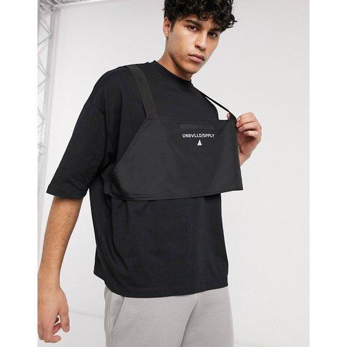 ASOS - Unrvlld Supply - T-shirt oversize avec harnais et logo réfléchissant - ASOS Unrvlld Supply - Modalova