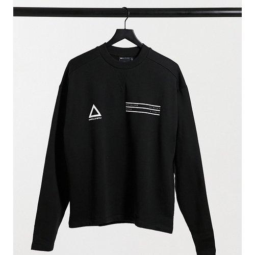 ASOS - Unrvlld Supply Tall - Sweat-shirt oversize à logo sur le devant - ASOS Unrvlld Supply - Modalova