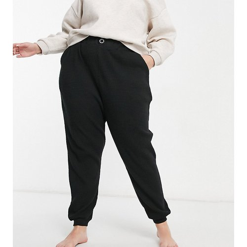 ASOS - Weekend Collective Curve - Jogger oversize confort en tissu gaufré - ASOS Weekend Collective - Modalova