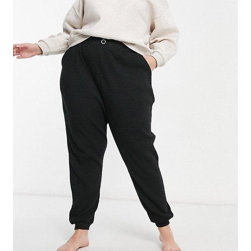 ASOS - Curve - Jogger oversize confort en tissu gaufré - Weekend Collective - Modalova