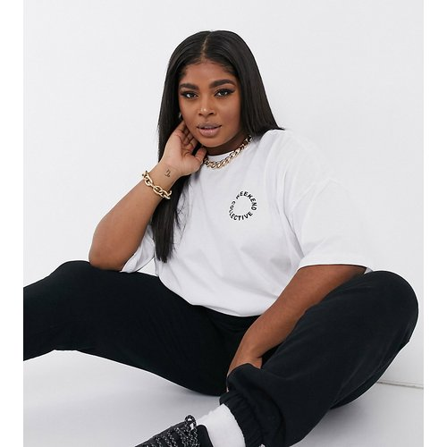 ASOS - - Curve - T-shirt oversize avec poche à logo - Weekend Collective - Modalova