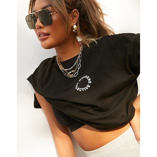 ASOS - Weekend Collective - T-shirt oversize avec logo - ASOS Weekend Collective - Modalova