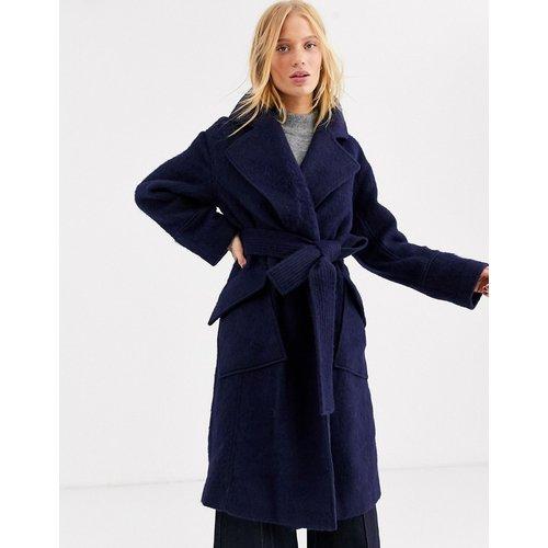 Manteau en laine à ceinture - ASOS WHITE - Modalova
