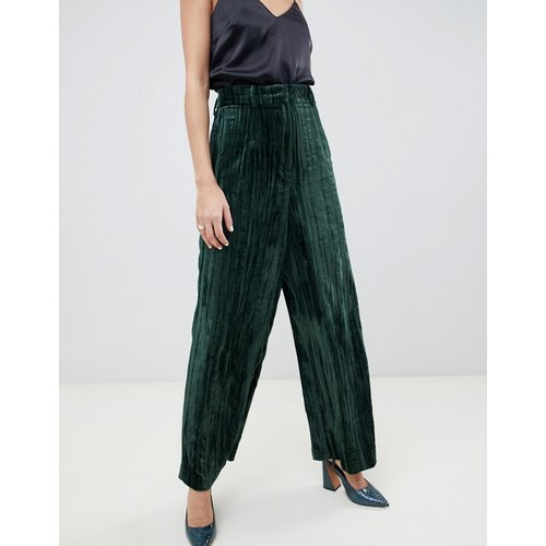 Pantalon large en velours - ASOS WHITE - Modalova