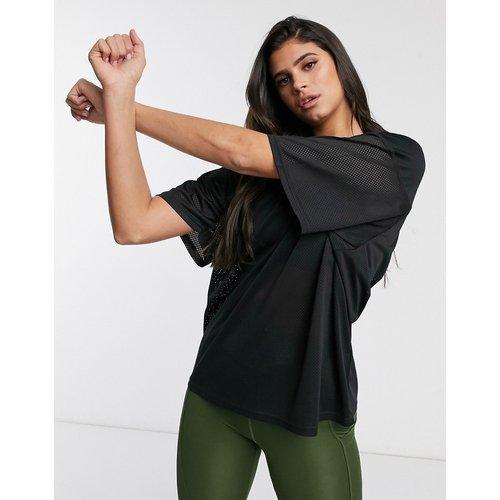 ASOS4505 - T-shirt col Voversizeen tulle - ASOS 4505 - Modalova