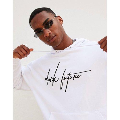 ASOSDark Future - Hoodieoversizeavec logo sur le devant - ASOS Dark Future - Modalova