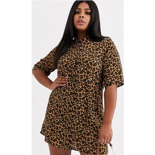 Chemise à imprimé léopard - AX Paris Plus - Modalova