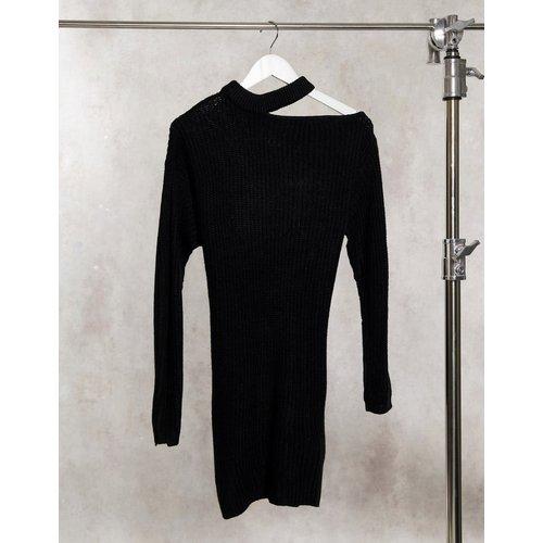 Robe pull asymétrique à découpe - AX Paris - Modalova