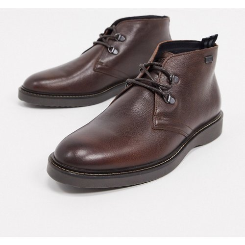 Piston - Bottes en cuir - foncé - Barbour International - Modalova
