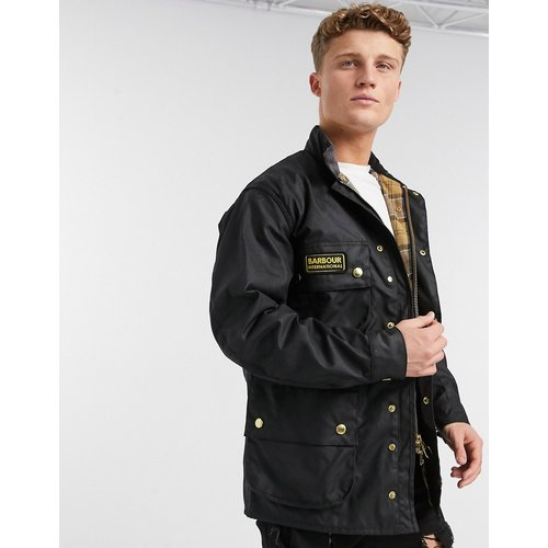 Veste de motard cirée authentique - Barbour International - Modalova