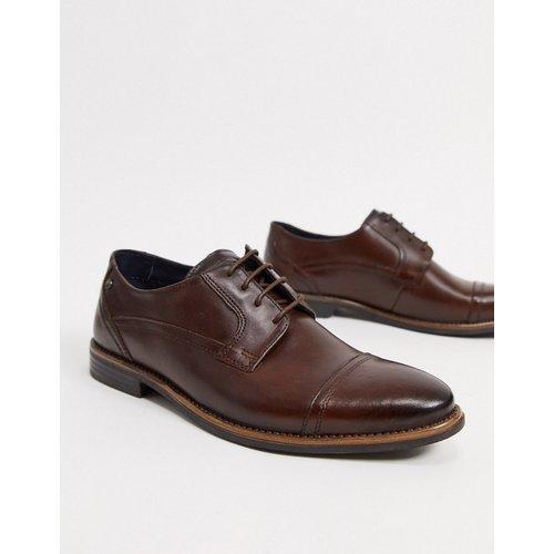 - Navara- Chaussures en cuir à lacets et bout renforcé - Base London - Modalova