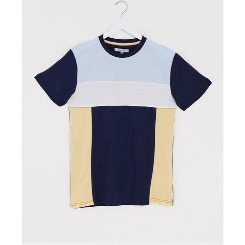 T-shirt en color block effet coupé-cousu - Bellfield - Modalova