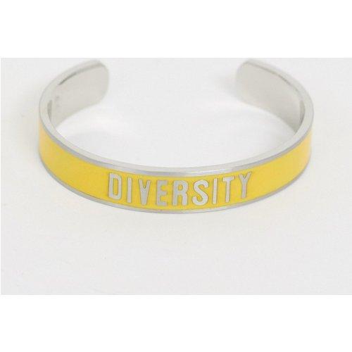 Diversity Collection - Bracelet avec slogan Diversity - Benetton - Modalova