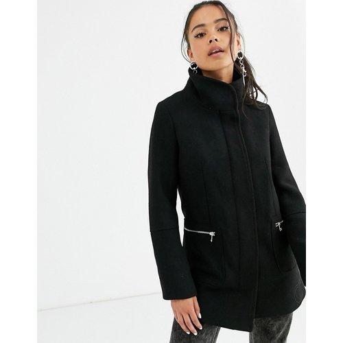Manteau zippé devant - Bershka - Modalova