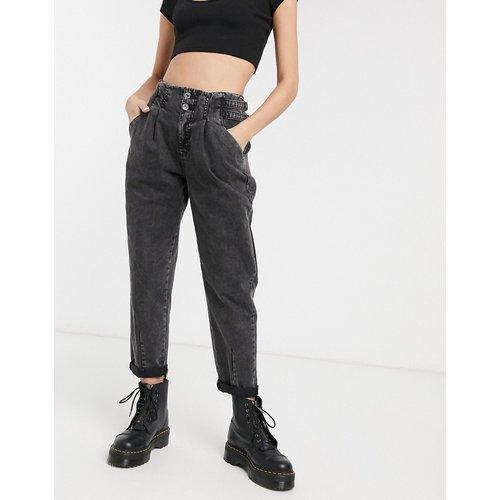 Pantalon souple détail boucle - Bershka - Modalova