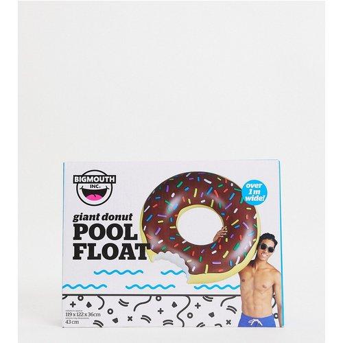 Bouée donut au chocolat gonflable - Big Mouth - Modalova