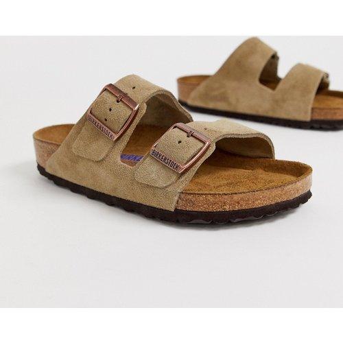 Arizona - Sandales en daim - Taupe - Birkenstock - Modalova