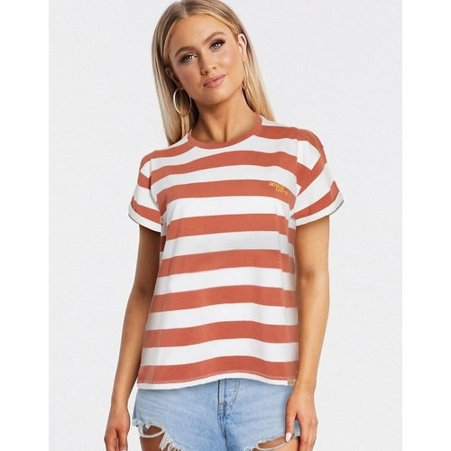 T-shirt à rayures - Marron - Blend She - Modalova