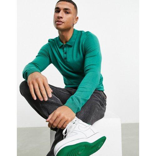 Polo en tricot à manches longues - Bolongaro Trevor - Modalova