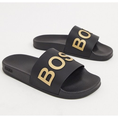 BOSS - Bay - Mules-Noir - BOSS by Hugo Boss - Modalova