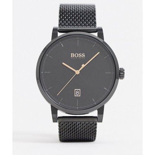 Black - 1513810 - Montre avec bracelet en maille - Boss - Modalova