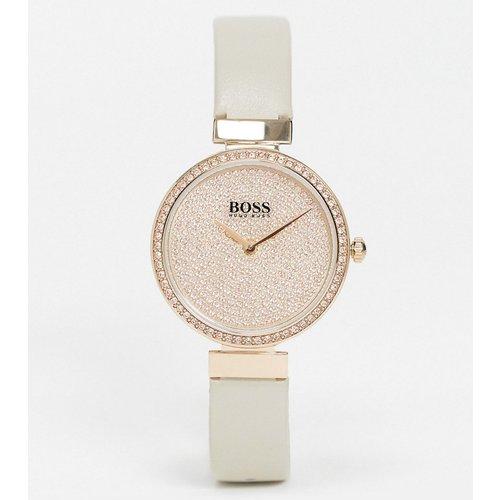 Coffret cadeau bracelet et montre en cuir - Boss - Modalova