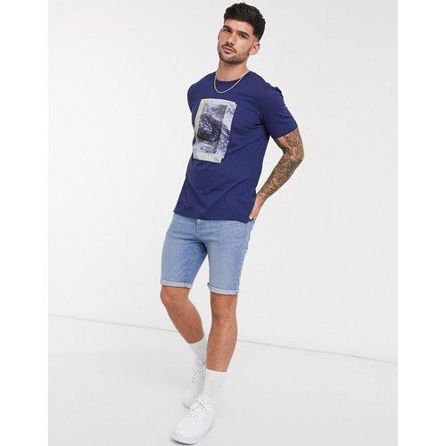 BOSS - tiburt - T-shirt-Bleu - Boss - Modalova