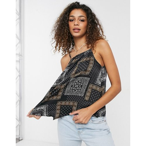 Amber - Top dos-nu à imprimé foulard - Brave Soul - Modalova