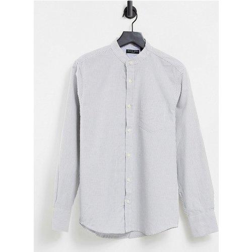 Chemise ajustée - Blanc - Brave Soul - Modalova